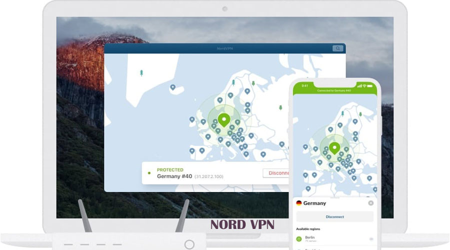 Nord VPN to protect privacy