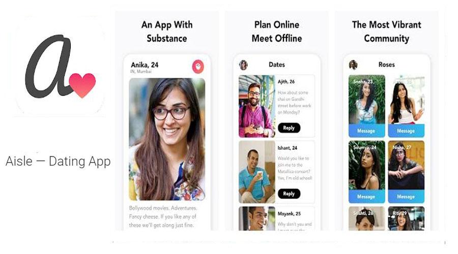 Aisle online dating app
