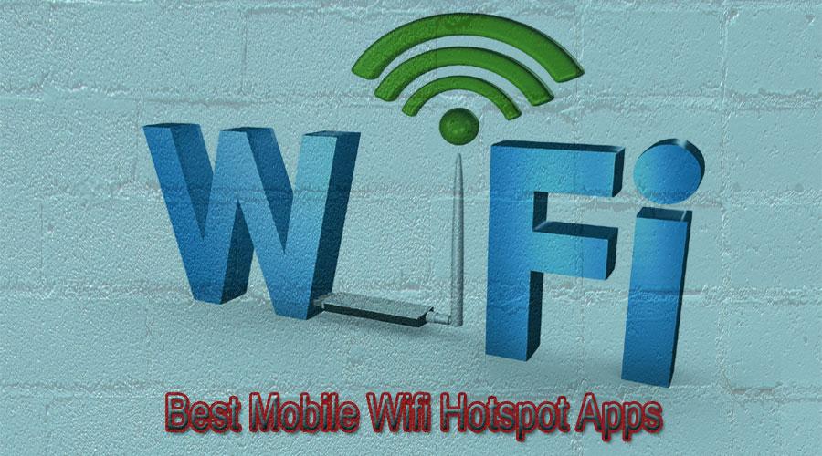 mobile wifi hotspot apps