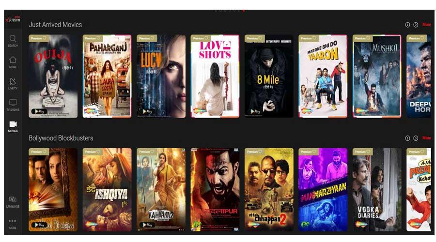 Airtel xstreams movies online