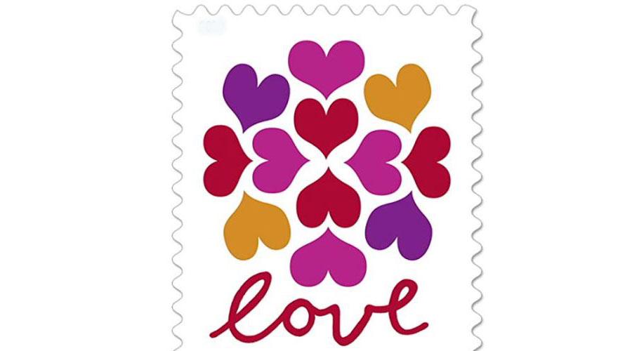 usps heart blossom forever stamps