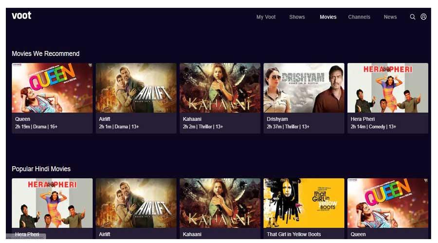 voot hindi movies online