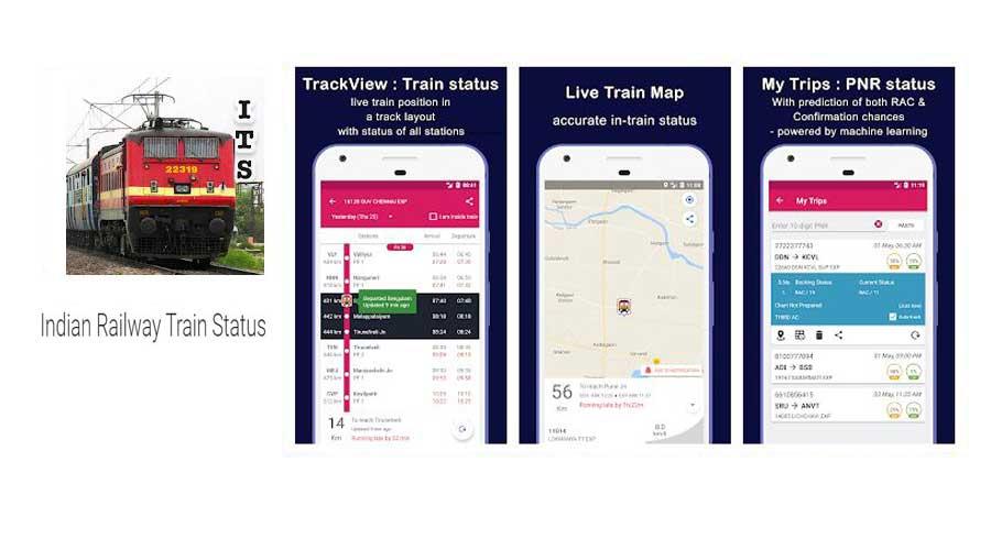 indian railway status apps