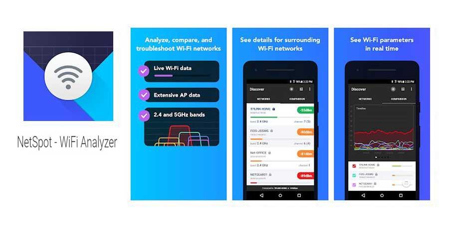 netspot wifi booster apps