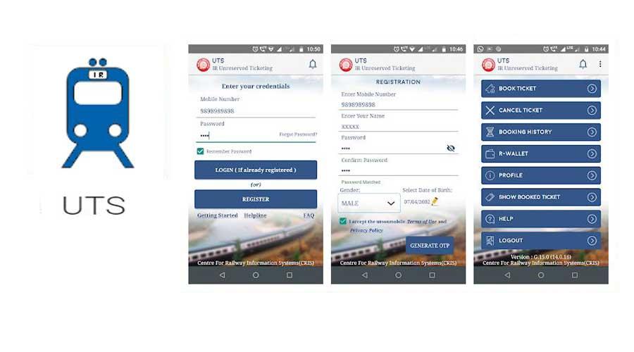 uts best railway app