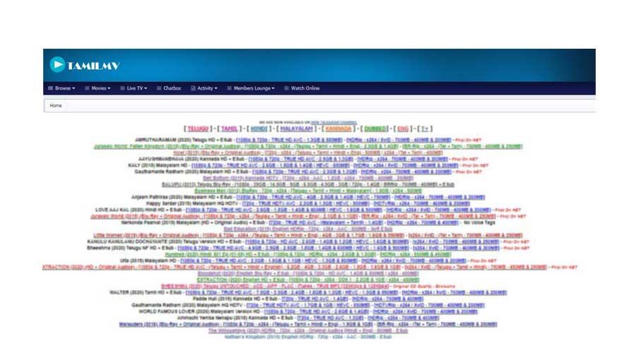 Tamilmv Movies Download