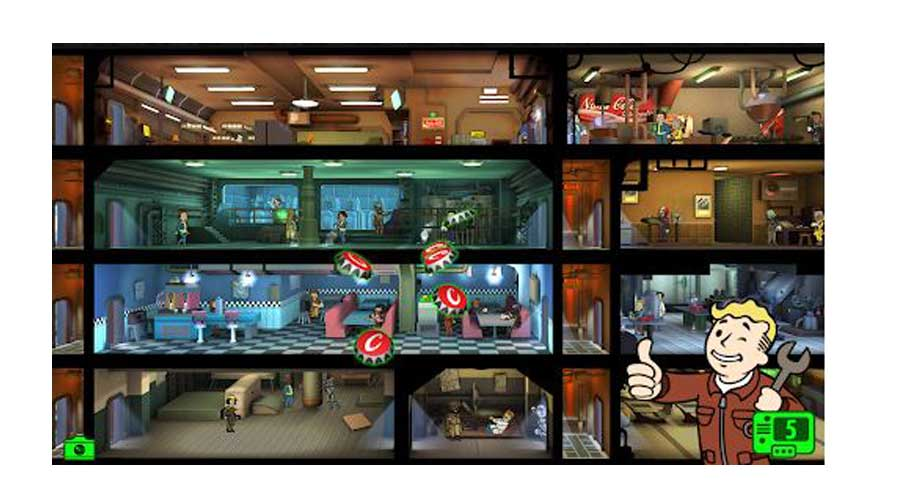 Fallout shelter cheap switch games
