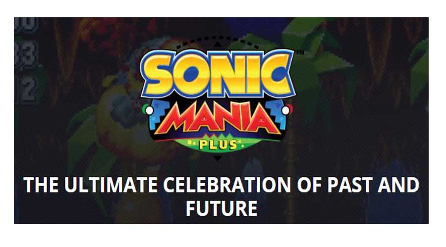 Sonic mania cheap switch games